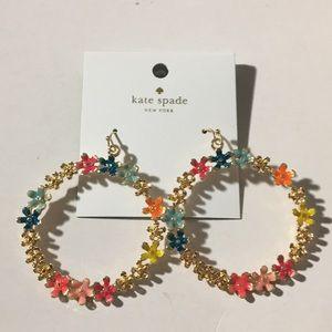 Kate Spade earr cream multi earrings